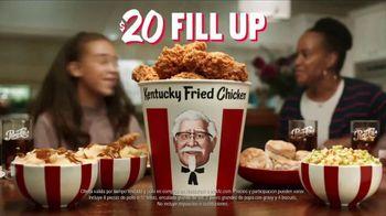 KFC $20 Fill Up TV Spot, 'Cubeta hablando' [Spanish] - Thumbnail 10