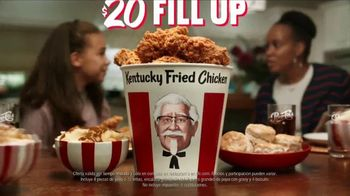 KFC $20 Fill Up TV Spot, 'Cubeta hablando' [Spanish] - Thumbnail 9