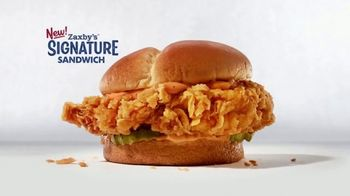 Zaxby's Signature Sandwich Meal TV Spot, 'It Ain't Over Yet' - Thumbnail 3