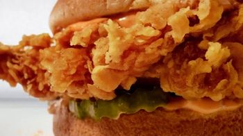 Zaxby's Signature Sandwich Meal TV Spot, 'It Ain't Over Yet'