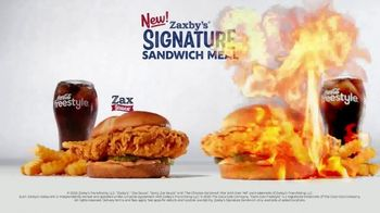 Zaxby's Signature Sandwich Meal TV Spot, 'It Ain't Over Yet' - Thumbnail 6