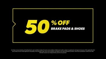 Meineke Car Care Centers TV Spot, 'Proposal: 50% Off Brake Pads & Shoes' - Thumbnail 7