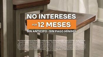 Ashley HomeStore Greatest Sale in History TV Spot, 'No intereses' [Spanish] - Thumbnail 6
