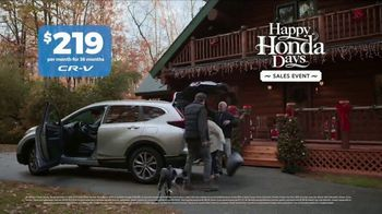 Happy Honda Days Sales Event TV Spot, 'Holidays: Nice to See You' [T2] - Thumbnail 7