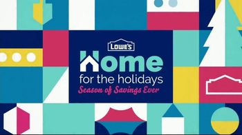 Lowe's Season of Savings Event TV Spot, 'Home for the Holidays: Workshop Gifts' - Thumbnail 2