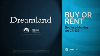 DIRECTV Cinema TV Spot, 'Dreamland' - Thumbnail 10