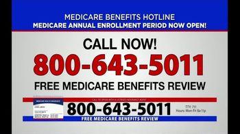 Medicare Benefits Helpline TV Spot, 'Annual Enrollment Period: Now Open' - Thumbnail 3