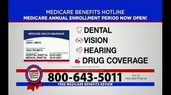 Medicare Benefits Helpline TV Spot, 'Annual Enrollment Period: Now Open' - Thumbnail 4