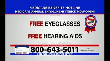 Medicare Benefits Helpline TV Spot, 'Annual Enrollment Period: Now Open' - Thumbnail 6