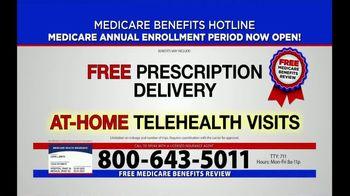 Medicare Benefits Helpline TV Spot, 'Annual Enrollment Period: Now Open' - Thumbnail 7