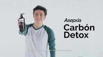 Asepxia Carbón Detox TV Spot, 'Suave y purificada' [Spanish] - Thumbnail 4