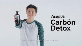 Asepxia Carbón Detox TV Spot, 'Suave y purificada' [Spanish]
