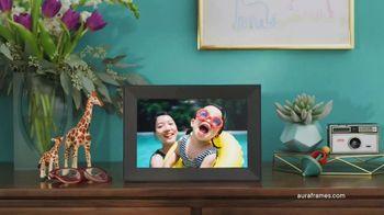 Aura Frames TV Spot, 'Stay Connected' - Thumbnail 7