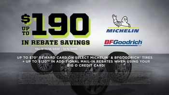 Big O Tires Biggest Black Friday Sale TV Spot, 'Rebate Savings'