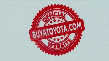 Toyota TV Spot, 'Official Website' [T2] - Thumbnail 10