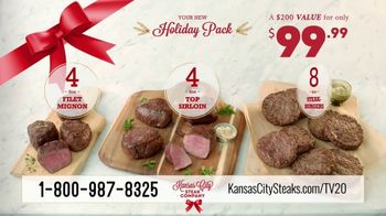 Kansas City Steak Company Holiday Packs TV Spot, 'Holidays: Gifts That Sizzle' - Thumbnail 10