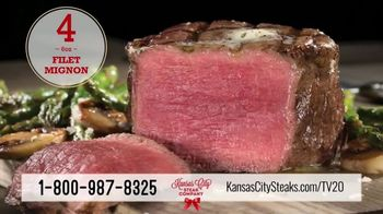 Kansas City Steak Company Holiday Packs TV Spot, 'Holidays: Gifts That Sizzle' - Thumbnail 6