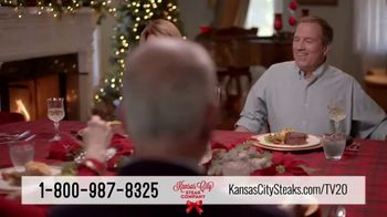 Kansas City Steak Company Holiday Packs TV Spot, 'Holidays: Gifts That Sizzle' - Thumbnail 8