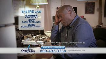 Optima Tax Relief TV Spot, 'Ron's Story'