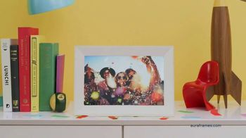 Aura Frames TV Spot, 'Gift Memories Every Day' - Thumbnail 3
