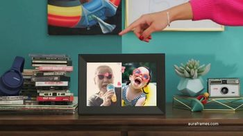 Aura Frames TV Spot, 'Gift Memories Every Day'