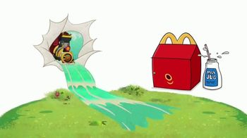 McDonald's Happy Meal TV Spot, 'Take a Ride on the Cartoon Side' - Thumbnail 1