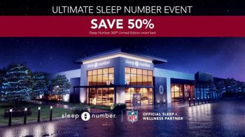 Ultimate Sleep Number Event TV Spot, 'Snoring' - Thumbnail 6