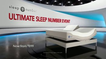 Ultimate Sleep Number Event TV Spot, 'Snoring' - Thumbnail 1