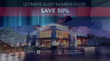 Ultimate Sleep Number Event TV Spot, 'Snoring' - Thumbnail 5
