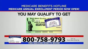 Medicare Benefits Hotline TV Spot, 'Annual Enrollment Period: Attention Everyone on Medicare'