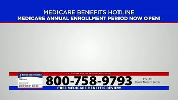 Medicare Benefits Helpline TV Spot, 'Annual Enrollment Period: Attention Everyone on Medicare' - Thumbnail 1