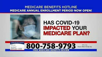 Medicare Benefits Helpline TV Spot, 'Annual Enrollment Period: Attention Everyone on Medicare' - Thumbnail 10
