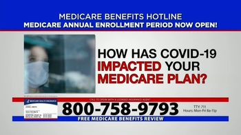 Medicare Benefits Helpline TV Spot, 'Annual Enrollment Period: Attention Everyone on Medicare' - Thumbnail 2