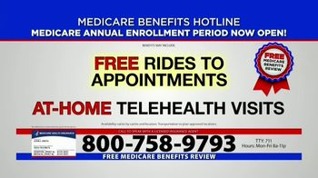 Medicare Benefits Helpline TV Spot, 'Annual Enrollment Period: Attention Everyone on Medicare' - Thumbnail 3