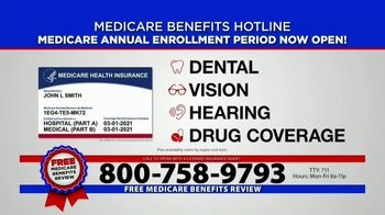 Medicare Benefits Helpline TV Spot, 'Annual Enrollment Period: Attention Everyone on Medicare' - Thumbnail 5