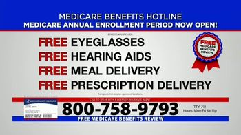 Medicare Benefits Helpline TV Spot, 'Annual Enrollment Period: Attention Everyone on Medicare' - Thumbnail 6