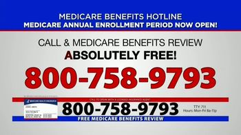 Medicare Benefits Helpline TV Spot, 'Annual Enrollment Period: Attention Everyone on Medicare' - Thumbnail 7