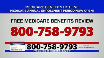 Medicare Benefits Helpline TV Spot, 'Annual Enrollment Period: Attention Everyone on Medicare' - Thumbnail 8