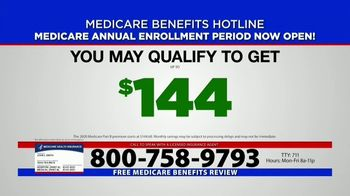 Medicare Benefits Helpline TV Spot, 'Annual Enrollment Period: Attention Everyone on Medicare' - Thumbnail 9