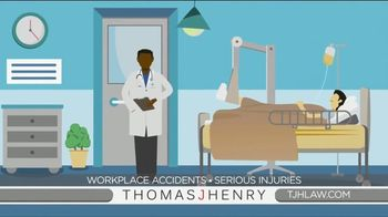 Thomas J. Henry Injury Attorneys TV Spot, 'Workplace Accident Lawyers'