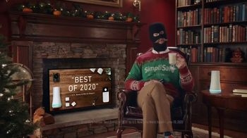 SimpliSafe TV Spot, 'At Home With Robbert: Eggnog: 50%'