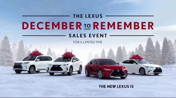 Lexus December to Remember Sales Event TV Spot, 'Driveway Moments: Peace and Joy' [T1] - Thumbnail 8