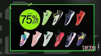 Tennis Express Black November TV Spot, 'Shoes, Apparel and Free Stringing' - Thumbnail 2