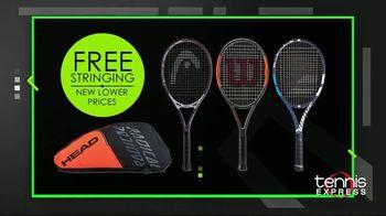 Tennis Express Black November TV Spot, 'Shoes, Apparel and Free Stringing' - Thumbnail 3