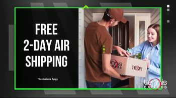 Tennis Express Black November TV Spot, 'Shoes, Apparel and Free Stringing' - Thumbnail 4