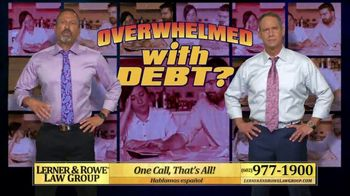 Lerner and Rowe Injury Attorneys TV Spot, 'Overwhelmed With Debt' - Thumbnail 5