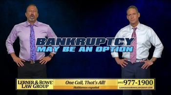 Lerner and Rowe Injury Attorneys TV Spot, 'Overwhelmed With Debt' - Thumbnail 7