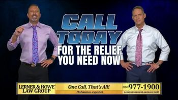 Lerner and Rowe Injury Attorneys TV Spot, 'Overwhelmed With Debt' - Thumbnail 8