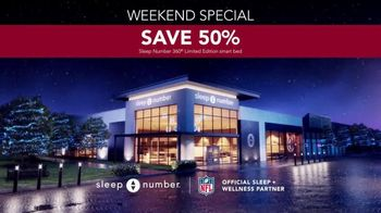 Ultimate Sleep Number Event TV Spot, 'Weekend Special: Snoring: Save 50%' - Thumbnail 6