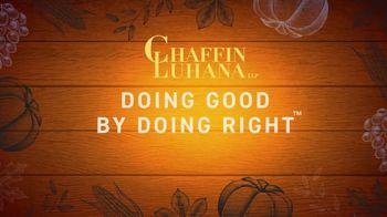 Chaffin Luhana TV Spot, 'Doing Good by Doing Right: Free Turkey' - Thumbnail 2